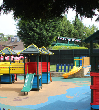 Childrens play area in Beaconsfield