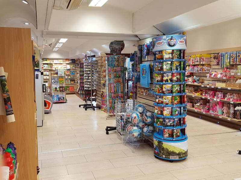 Inside the Souvenir Shop